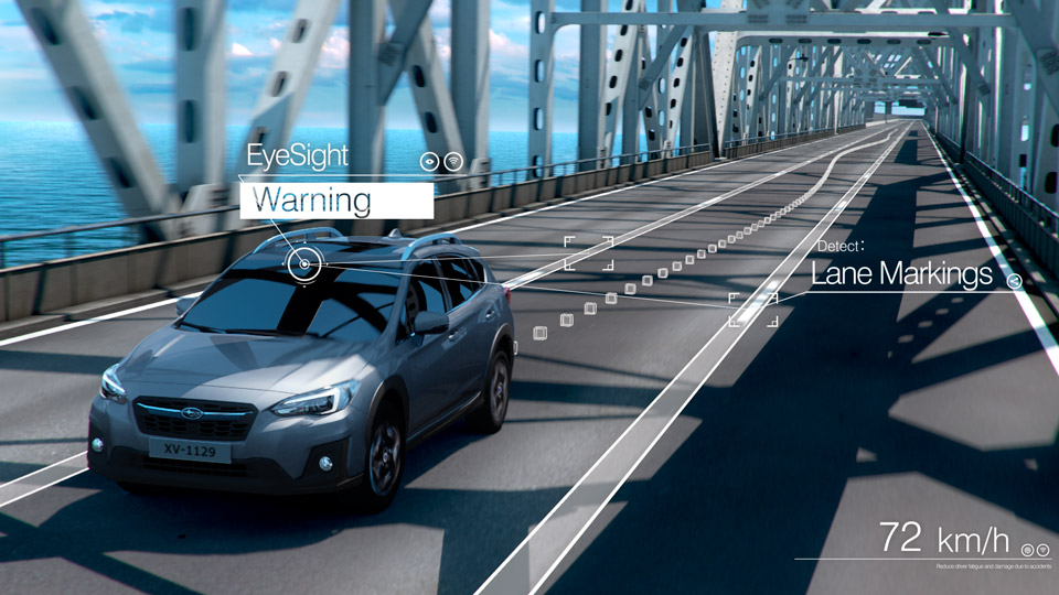 Subaru เปิดตัว EyeSight Driver Assist Technology นวัตกรรมใหม่ล่าสุดแห่งเทคโนโลยี ในงานมอเตอร์โชว์ 2018 ประเทศสิงคโปร์