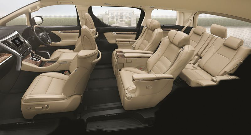 Alphard 3.5VIP Main Interior Key Visual