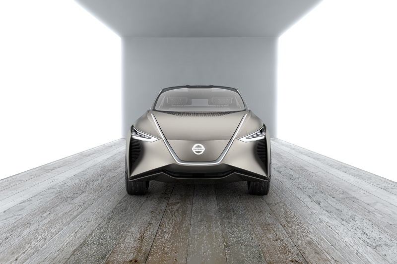 EMBARGO Mar. 6 9am CET Nissan IMx KURO concept vehicle exterior Photo 4 source