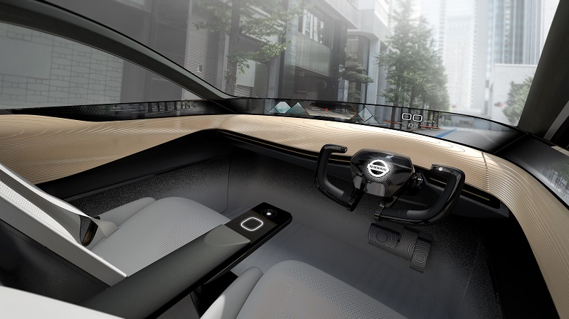 EMBARGO Mar. 6 9am CET Nissan IMx KURO concept vehicle interior Photo 5 source