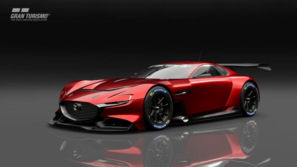 MAZDA RX-VISION GT3 CONCEPT รถแข่งเสมือนจริงสุดเท่ ขับได้แล้วในเกม Gran Turismo SPORT
