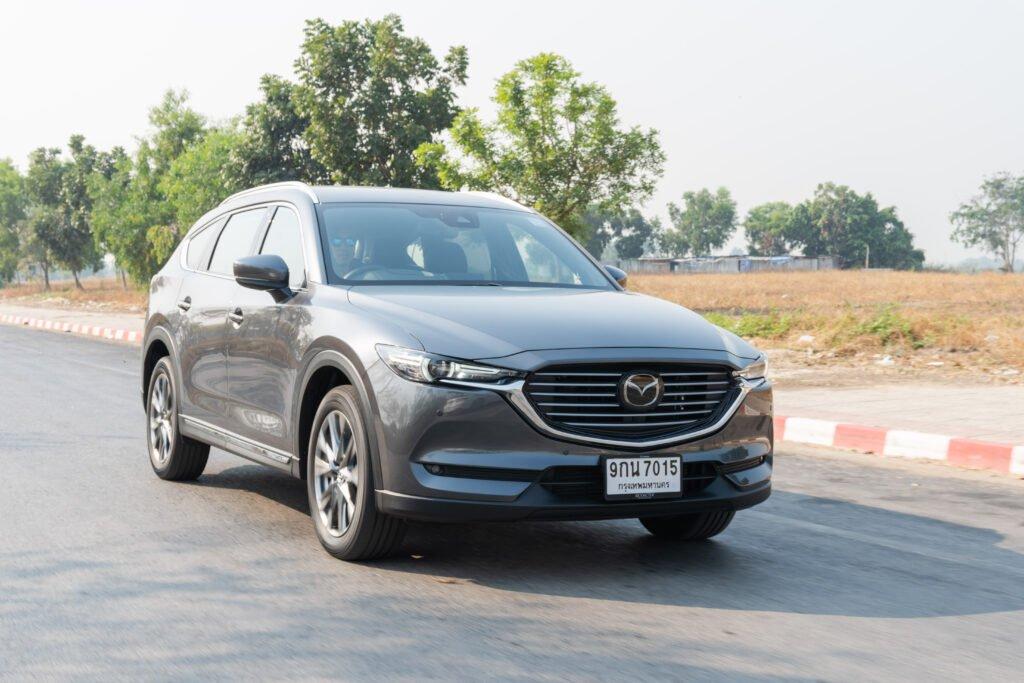 [Road Test] Mazda CX-8 XDL EXCLUSIVE เอสยูวี 6 ที่นั่ง สุดในความหรู การขับขี่ดีงาม