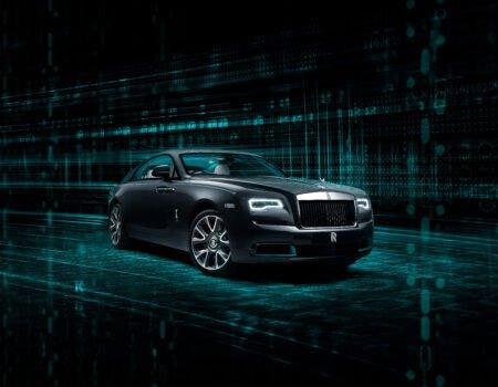 Rolls-Royce Wraith Kryptos Collection สุดยอดยนตรกรรมวงกตแห่งรหัสลับ