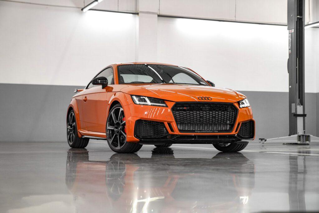 Audi TT RS Coupé เวอร์ชั่นแรงสุดของ TT เปิดตัวอย่างเป็นทางการ เคาะราคา 5.299 ล้านบาท