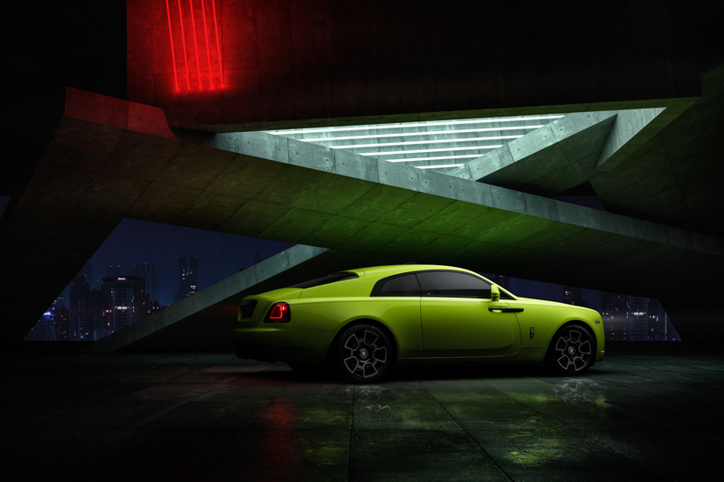 โรลส์-รอยซ์ เผย 3 สีตัวถังรุ่นลิมิเต็ด