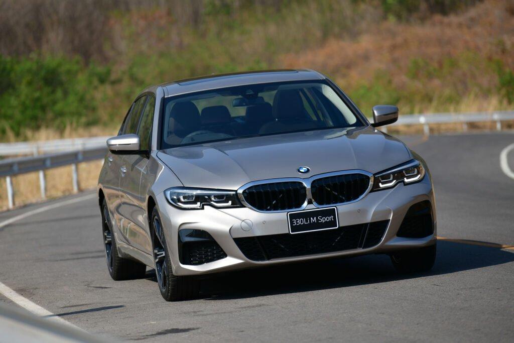 BMW 330Li M Sport ใหม่ฐานล้อยาวกว่าเดิม