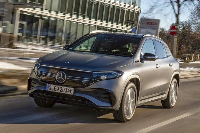Mercedes EQA เอสยูวีไฟฟ้า 100%